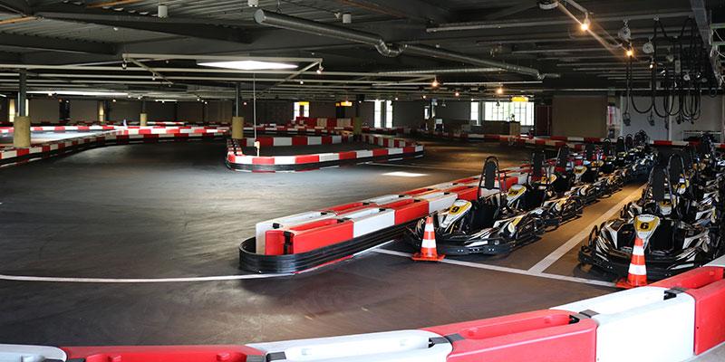 Indoor kartbaan van The Maxx Veenendaal